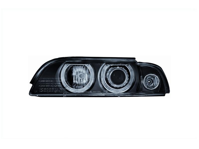 Paire de Evil Eye Yeux Casque en noir pour moto biker Design Autocollant pour voiture 80/x 40/mm chaque