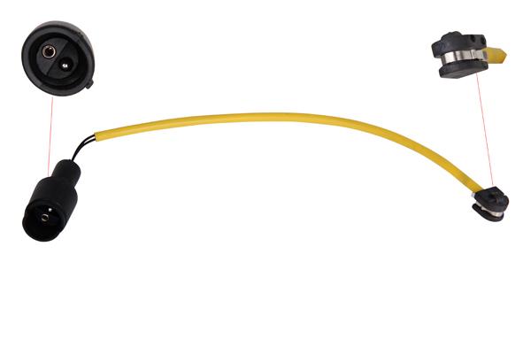 Contact d'avertissement, usure des plaquettes de frein   prix canon
