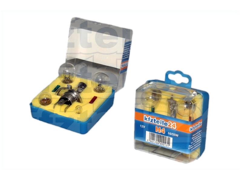 Boîte de lampe de rechange H4 60/55 W [12 V] (1 jeu)   prix canon