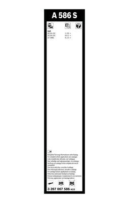 Balai d'essuie-glace Aerotwin | BOSCH
