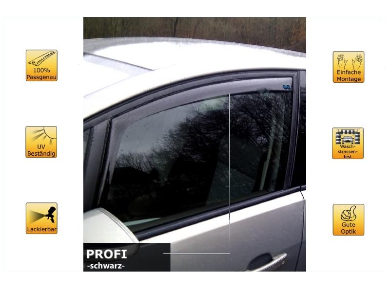 Profi (portes avant) pour Citroen C1 3 portes | ClimAir