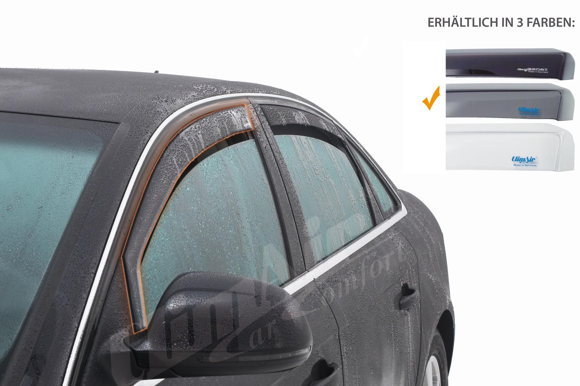 Pro (portières avant) pour Nissan Qashqai 5 portes | CLIMAIR