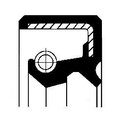 Bague d'étanchéité, boîte automatique | CORTECO
