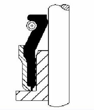 Vanne Tige Kit D/'étanchéité CORTECO 19018249