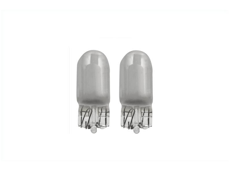 Ampoule argentée 5W [12 V] [W5W] [T10] (2 pcs)   DECTANE