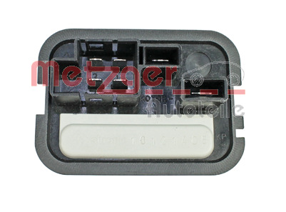 Appareil de commande, chauffage/ventilation genuine   METZGER