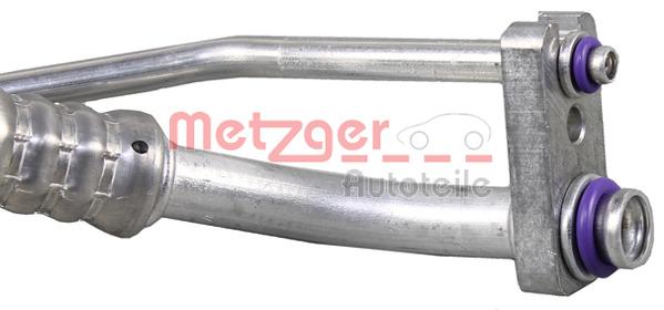 Conduite à haute/basse pression, climatisation | METZGER
