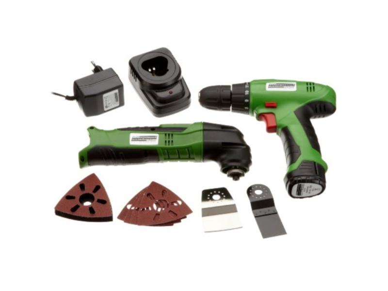 Kit d'outils à batterie 12 V | MANNESMANN