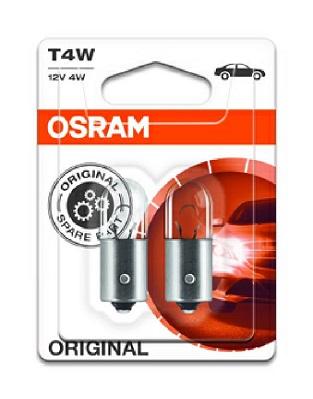 Ampoule T4W Original [12V] (2 pièces) | OSRAM