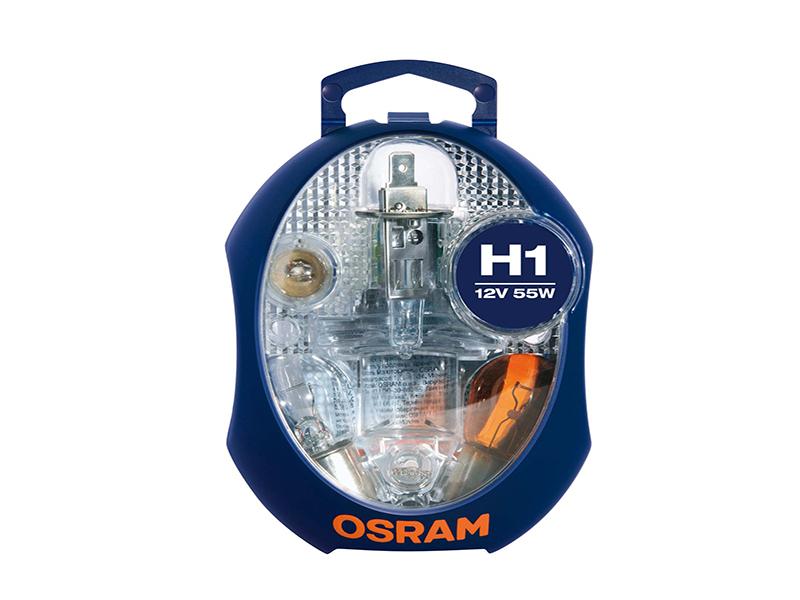 Coffret d'ampoules de rechange H1 55W [12V] (1 jeu) | OSRAM