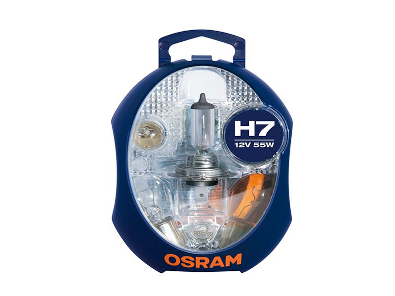 Coffret d'ampoule de rechange H7 55W [12V] (1 exemplaire) | OSRAM