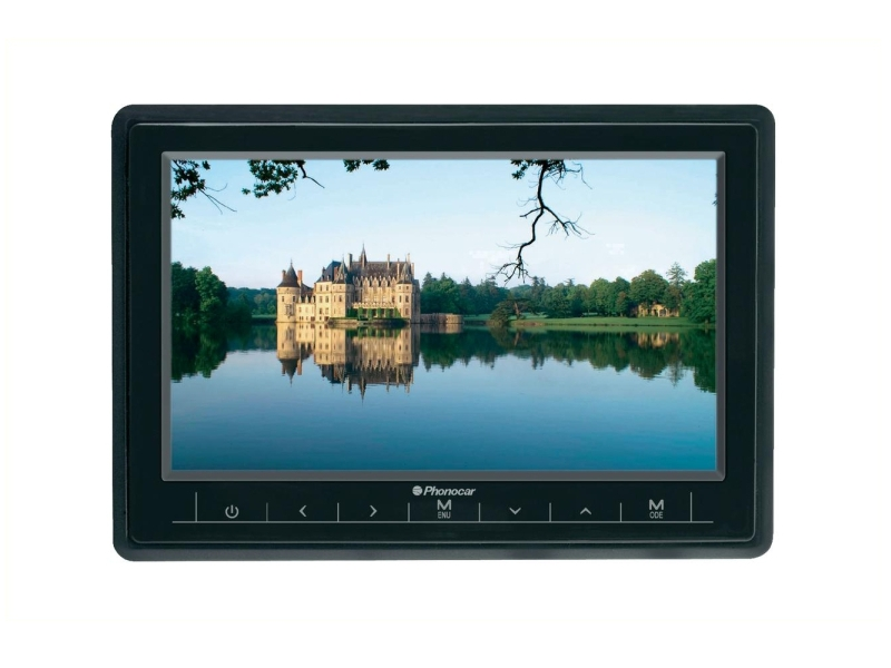 Écran TFT/LCD 7 pouces écran large 16/9 | PHONOCAR INDUSTRIEVERTRETUNG FRANK WALTER