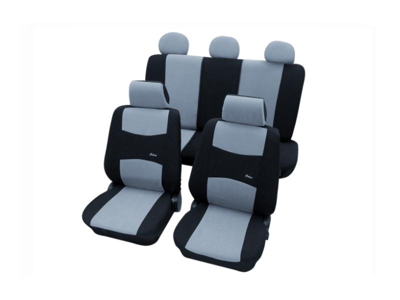 Housses de siège universelles bleu foncé, polyester | PETEX