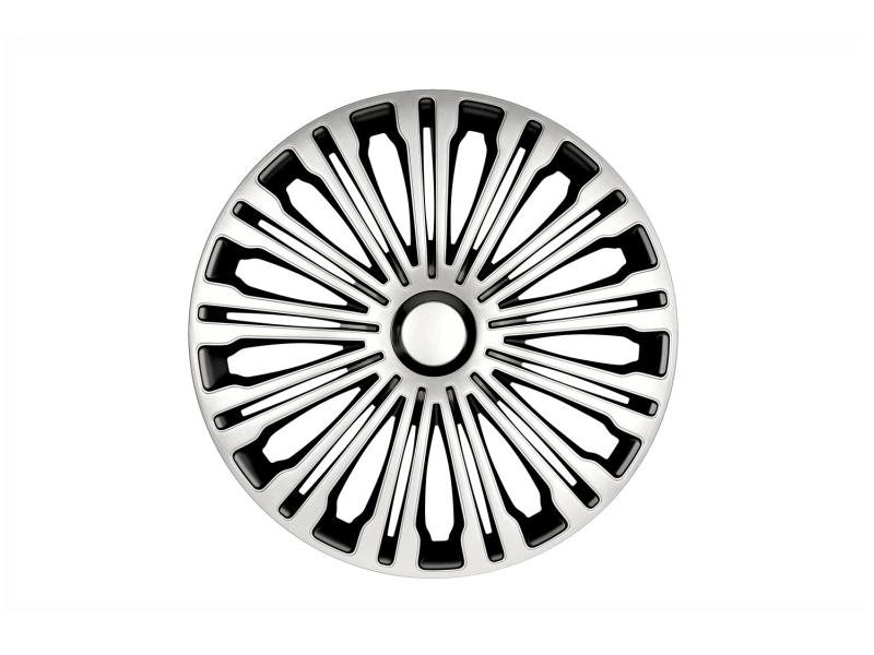 Enjoliveur Volante 15'''', argenté / noir | PETEX