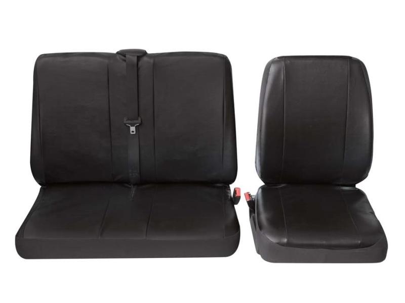 Housse de siège universelle pour camionnette, noire | PETEX