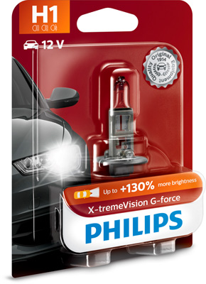 Ampoule, projecteur principal X-tremeVision G-force | PHILIPS