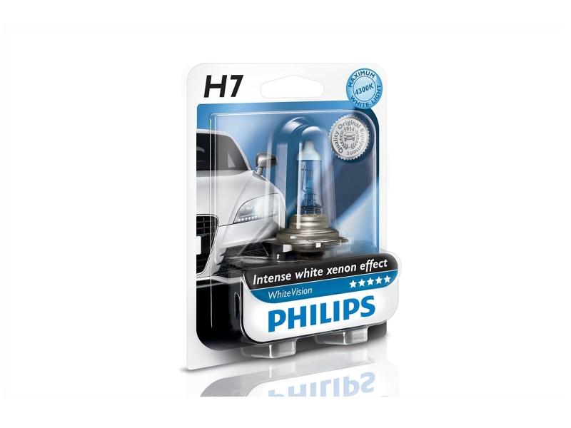 Ampoule H7 WhiteVision 55 W [12 V] (1 pcs.)   PHILIPS