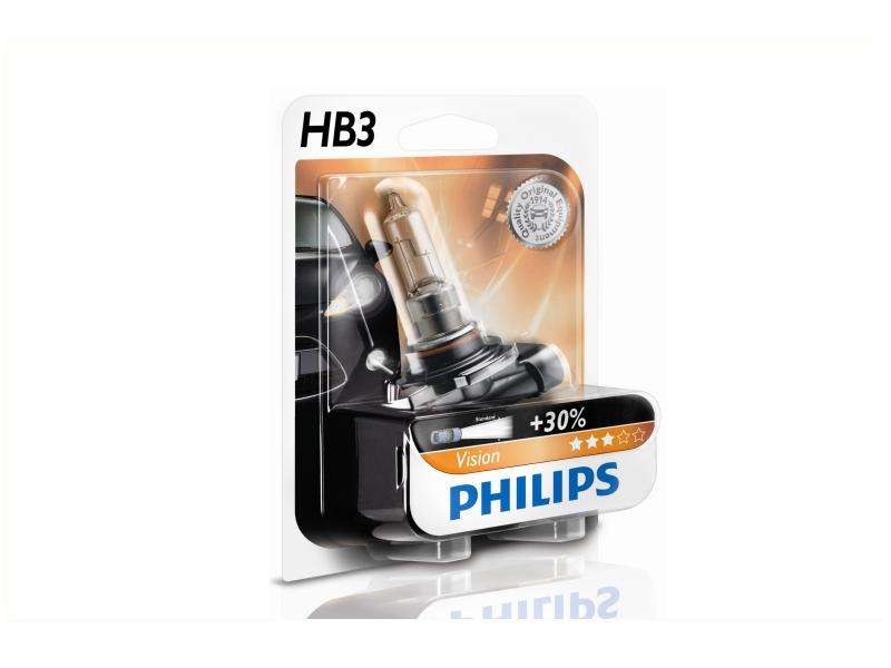Ampoule HB3 Vision 65 W [12 V] (1 pc.) | PHILIPS
