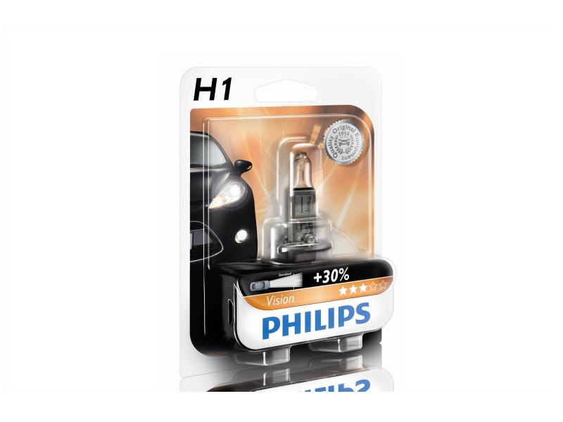 Ampoule H1 Vision 55 W [12 V] (1 pc.) | PHILIPS