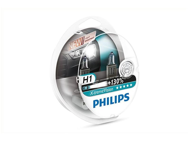Ampoule H1 X-tremeVision + 55 W [12 V] (2 pcs.) | PHILIPS