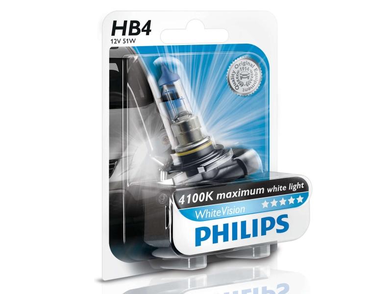 Ampoule HB4 White Vision 55 W [12 V] (1 pc.) | PHILIPS