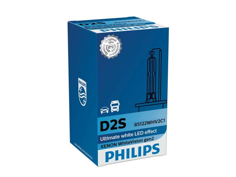 Ampoule, projecteur longue portée Xenon WhiteVision gen2 | PHILIPS