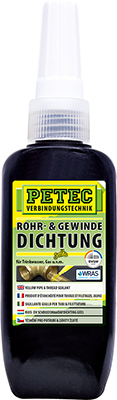 ROHR- & GEWINDEDICHTUNG GELB | PETEC