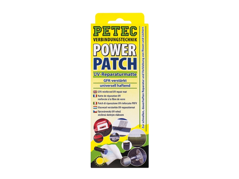 Patch életrique du tapis de réparation UV (75 x 150 mm) | PETEC