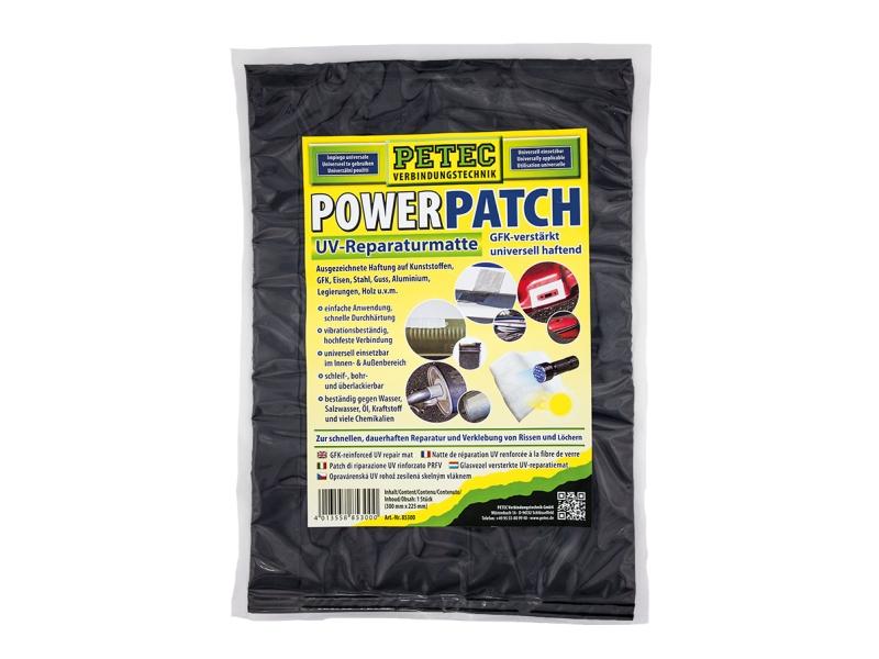 Patch életrique du tapis de réparation UV (300 x 225 mm) | PETEC