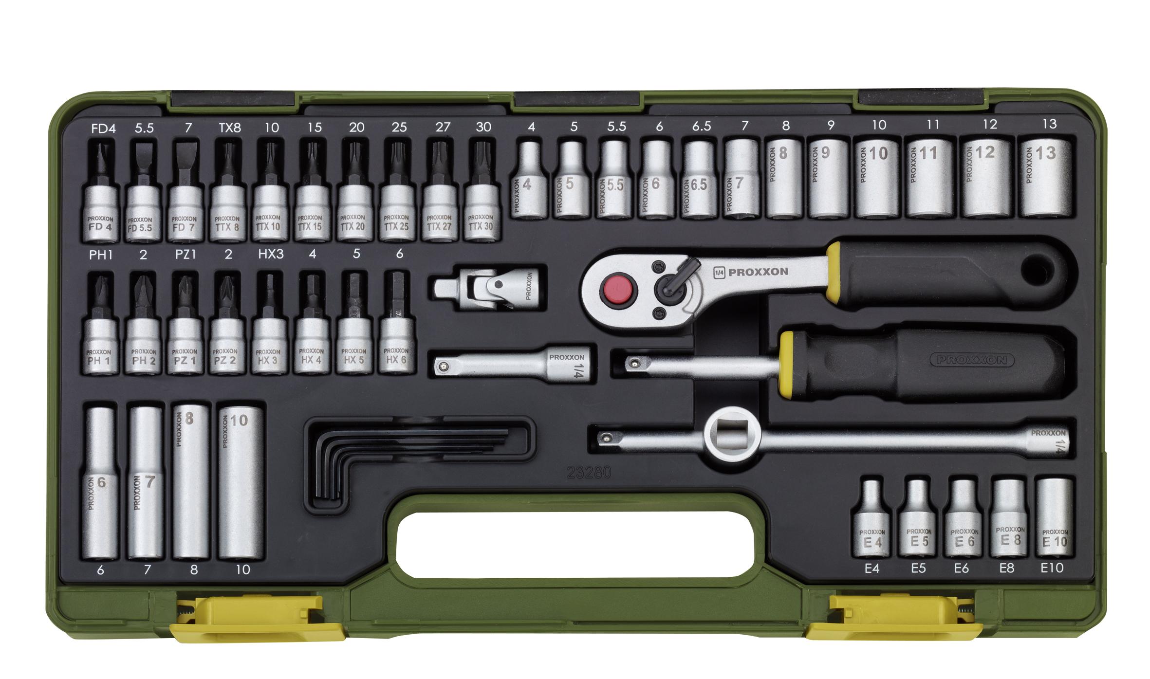 Kit de clés à douille   PROXXON