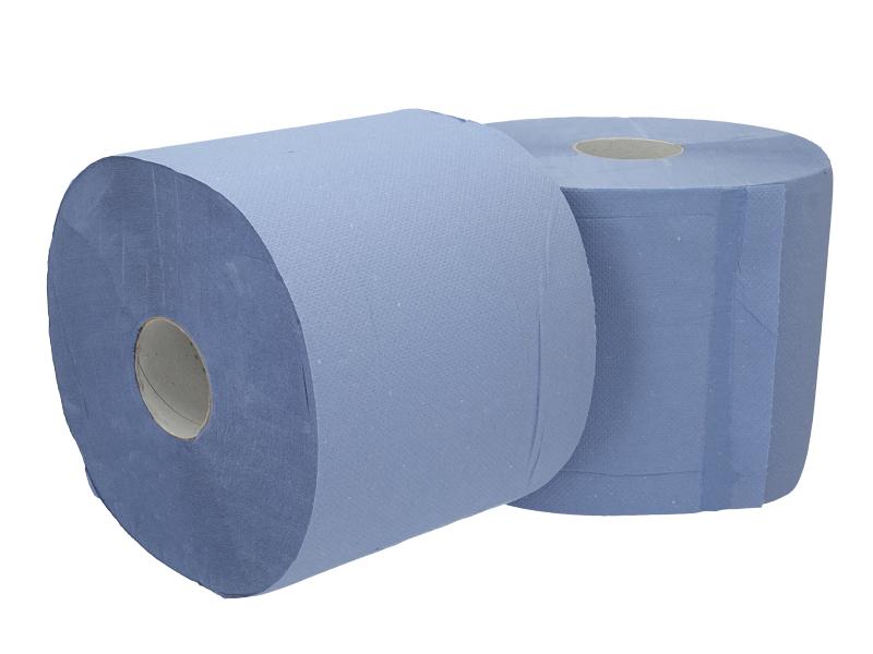 Papier de nettoyage bleu rouleau de 500 feuilles, 2 épaisseurs | RAVENOL
