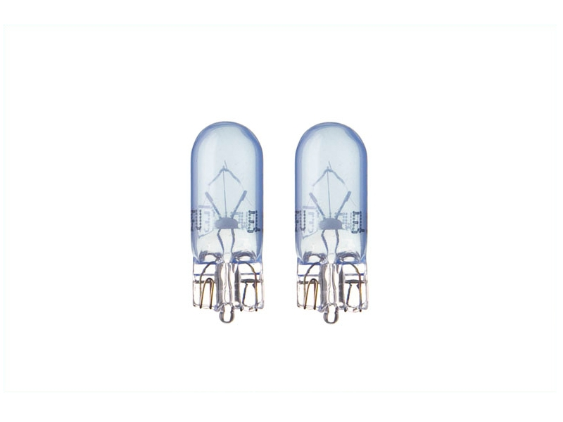 Ampoule [12 V] 5 watts [BLEU] (2 pièces) | SPAHN GLÜHLAMPEN