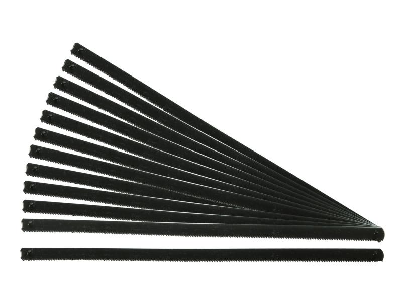 Lames de scie de rechange, longueur 150 mm, pour métal, 12 pièces | SWSTAHL