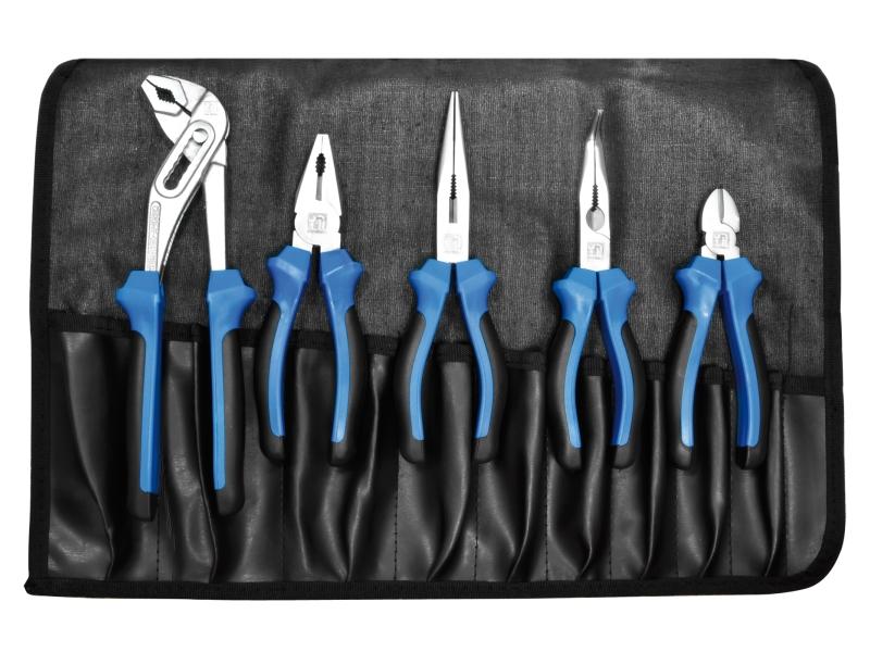 Trousse à pinces souple refermable professionnelle | SWSTAHL