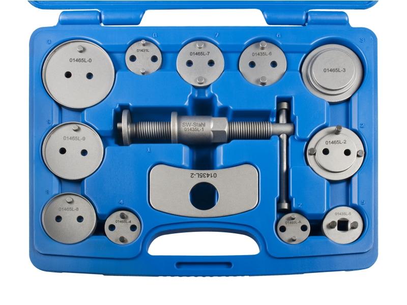 Outil de réarmement piston de frein en cassette (13 pcs.)   SWSTAHL