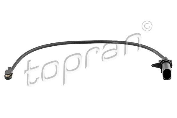 Détecteur de l'usure des plaquettes de frein   TOPRAN