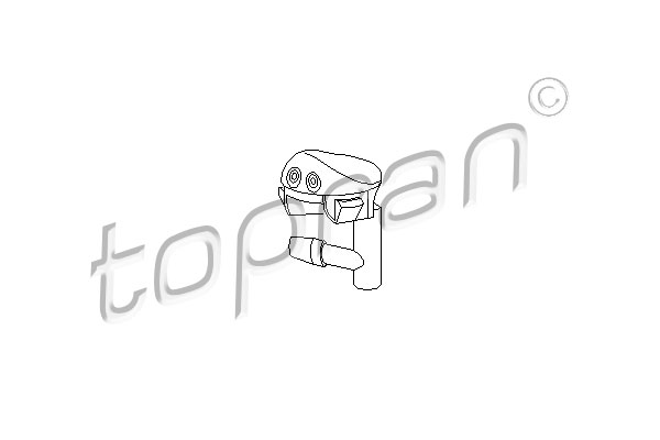 Gicleur d'eau de nettoyage, nettoyage des vitres | TOPRAN