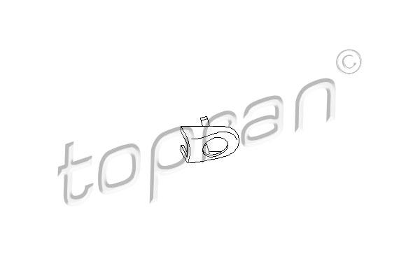 Évent, poignet de porte   TOPRAN
