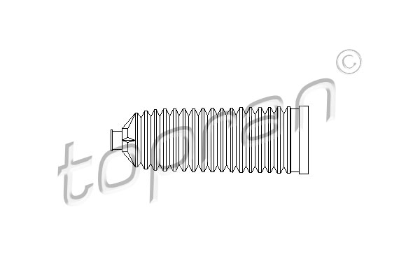 Joint-soufflet, direction | TOPRAN