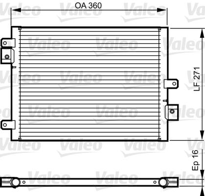 Condenseur, climatisation | VALEO