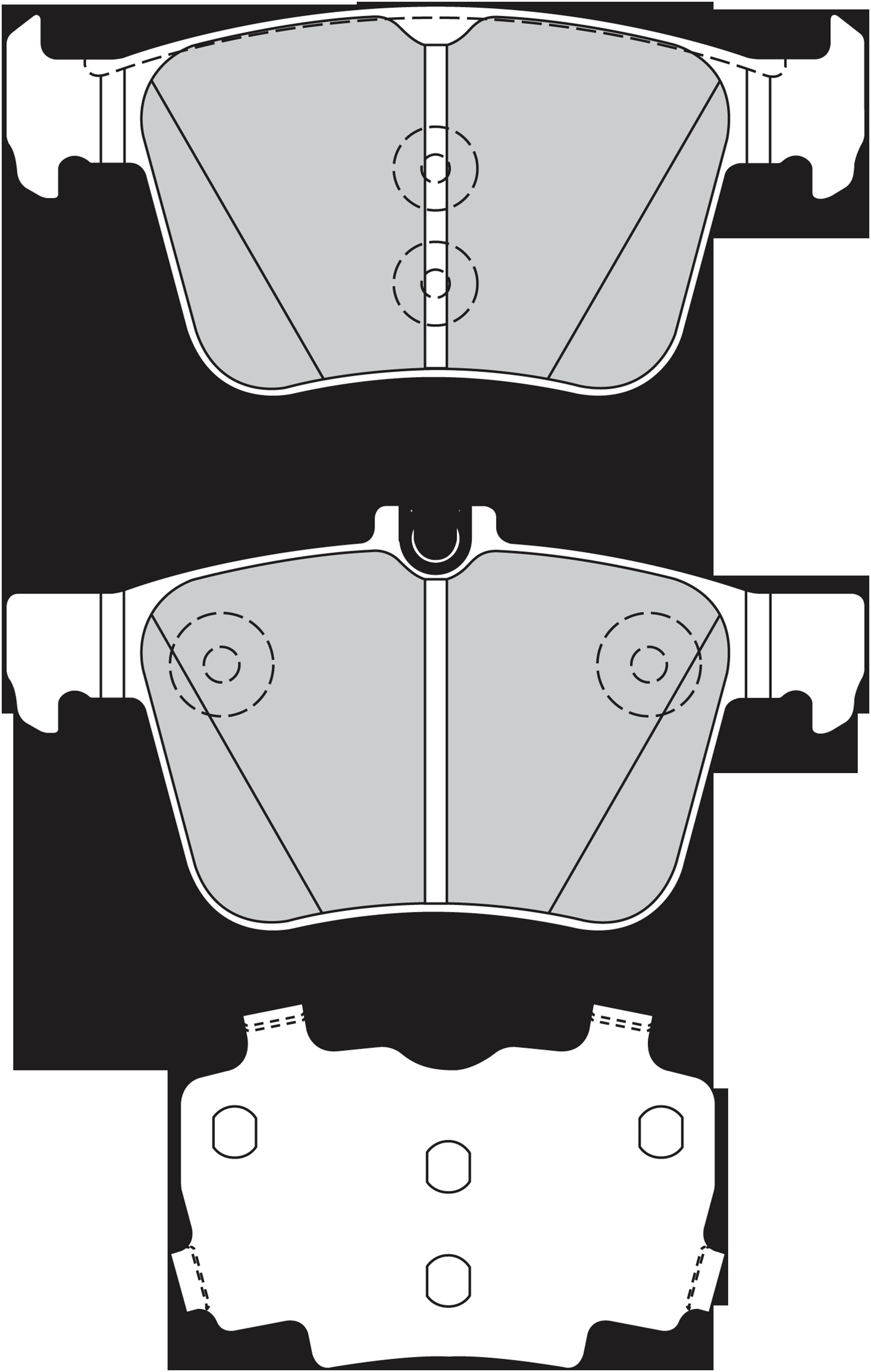 Kit de plaquettes de frein, frein à disque | VALEO