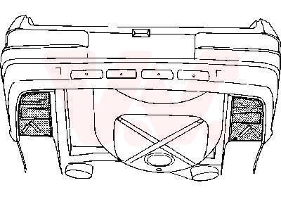 Plancher de carrosserie, coffre à bagages/de chargement | VAN WEZEL